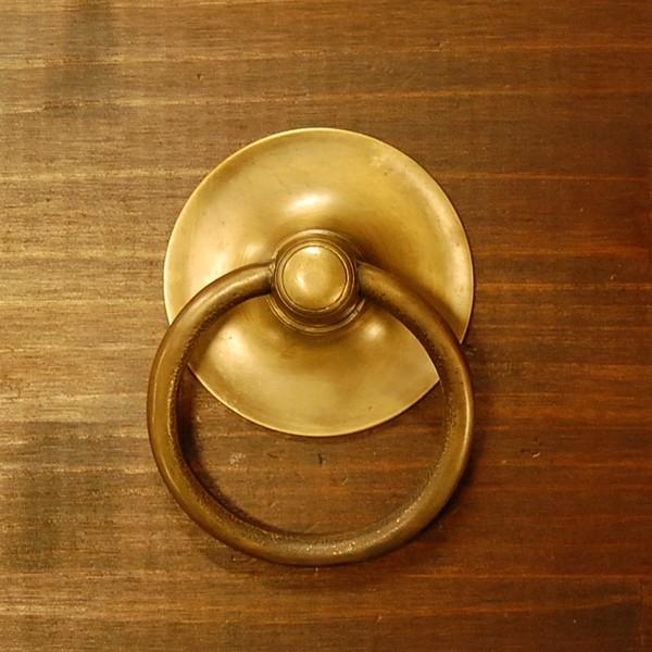 ブラス取っ手 ノブ 真鍮把手 インドネシア直輸入・インテリアパーツ・アンティーク仕上げ・古色仕上げ DIY 付け替え 修理 家具部品|artcrew