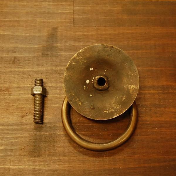 ブラス取っ手 ノブ 真鍮把手 インドネシア直輸入・インテリアパーツ・アンティーク仕上げ・古色仕上げ DIY 付け替え 修理 家具部品|artcrew|05