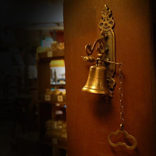ブラスドアベル・・・真鍮ベル・インドネシア直輸入・アンティークスタイル・インテリア雑貨|artcrew