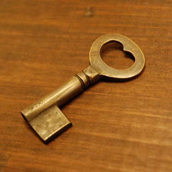 ブラス鍵167A 真鍮金具・・・インドネシア直輸入・インテリアパーツ・古色仕上げ|artcrew|02