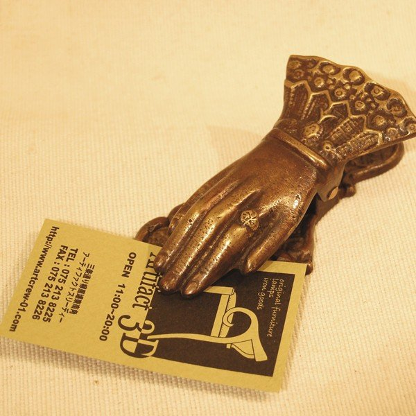 ブラスクリップ・・・真鍮・インドネシア直輸入・アンティークスタイル・インテリア雑貨|artcrew|06