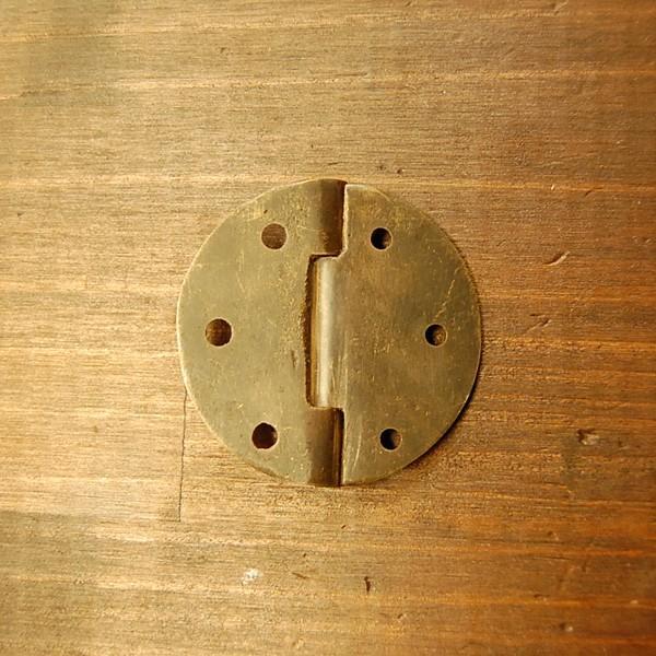 ブラス蝶番352 ヒンジ 真鍮・・・インドネシア直輸入・インテリアパーツ・古色仕上げ|artcrew|04