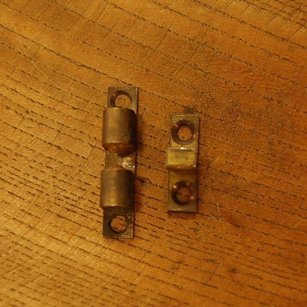 ブラス錠前353 真鍮ボールキャッチ・・・インドネシア直輸入・インテリアパーツ・古色仕上げ|artcrew|02