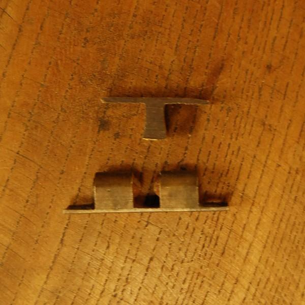 ブラス錠前353 真鍮ボールキャッチ・・・インドネシア直輸入・インテリアパーツ・古色仕上げ|artcrew|03