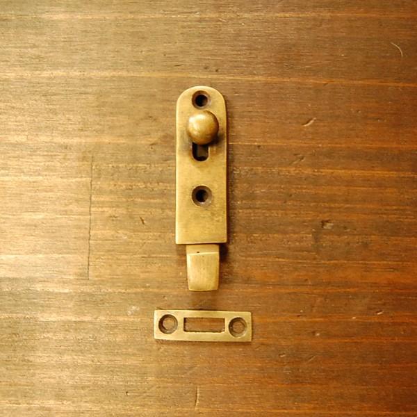 ブラス錠前368 真鍮金具・・・インドネシア直輸入・インテリアパーツ・古色仕上げ|artcrew