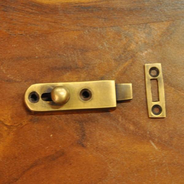 ブラス錠前368 真鍮金具 インドネシア直輸入 インテリアパーツ 古色仕上げ DIY 扉金具|artcrew|06