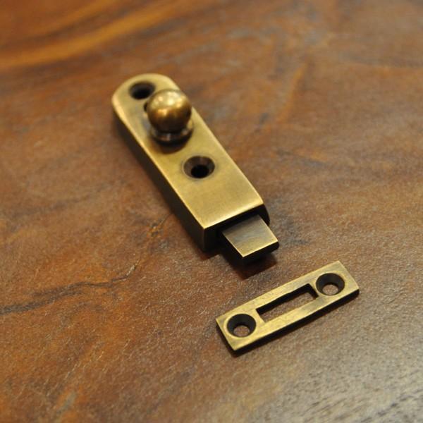 ブラス錠前368 真鍮金具 インドネシア直輸入 インテリアパーツ 古色仕上げ DIY 扉金具|artcrew|07