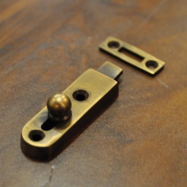 ブラス錠前368 真鍮金具 インドネシア直輸入 インテリアパーツ 古色仕上げ DIY 扉金具|artcrew|08