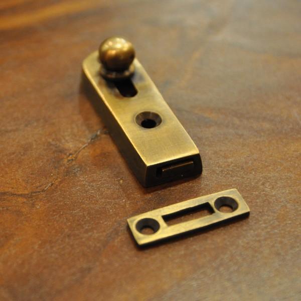 ブラス錠前368 真鍮金具 インドネシア直輸入 インテリアパーツ 古色仕上げ DIY 扉金具|artcrew|09