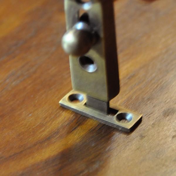ブラス錠前368 真鍮金具 インドネシア直輸入 インテリアパーツ 古色仕上げ DIY 扉金具|artcrew|10
