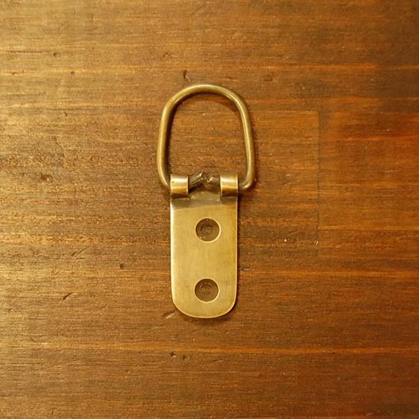ブラスパーツ386 真鍮吊金具・・・インドネシア直輸入・インテリアパーツ・古色仕上げ|artcrew