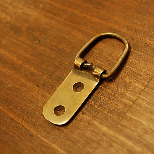 ブラスパーツ386 真鍮吊金具・・・インドネシア直輸入・インテリアパーツ・古色仕上げ|artcrew|02