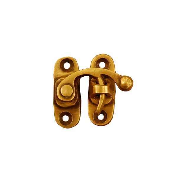 ブラス錠前 lockparts 真鍮金具 ロック金具 インドネシア直輸入 インテリアパーツ 古色仕上げ 地震対策 修理 金具 部品|artcrew|05