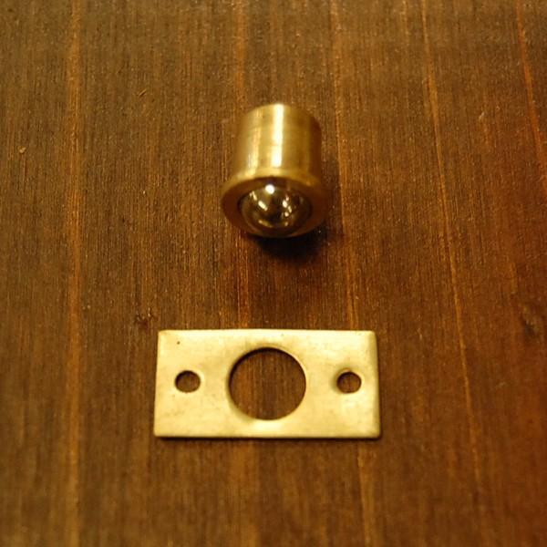 ブラス錠前391 真鍮金具・・・インドネシア直輸入・インテリアパーツ・古色仕上げ artcrew