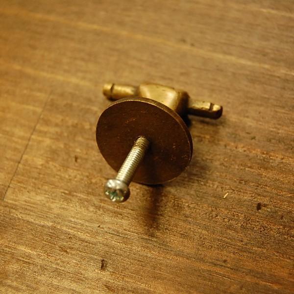 取っ手 真鍮把手 ブラス おしゃれ 引き出し インテリアパーツ アンティーク仕上げ 古色仕上げ DIY 付け替え 修理 家具部品 インドネシア直輸入|artcrew|05