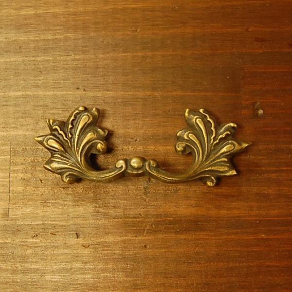 真鍮取っ手 把手 ブラス ドア取っ手 インドネシア直輸入・インテリアパーツ・古色仕上げ アンティーク仕上げ 家具修理 家具部品 DIY artcrew