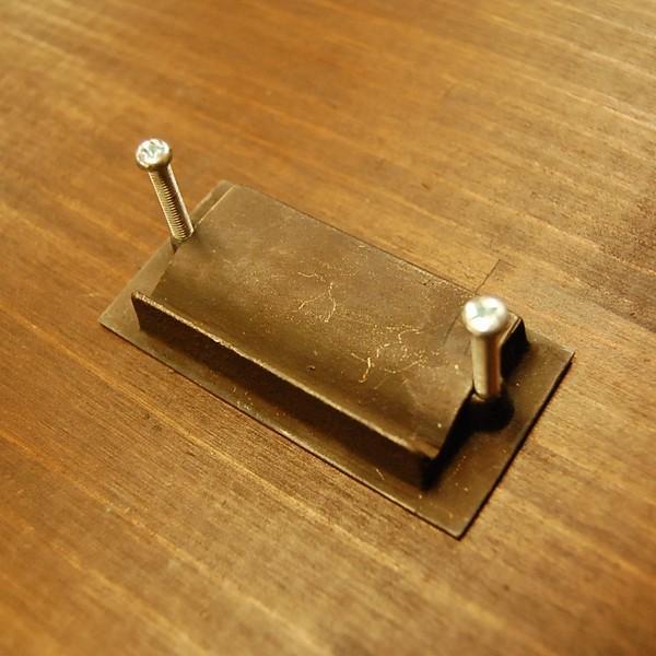 ブラスノブ413 真鍮把手・引戸用・・インドネシア直輸入・インテリアパーツ・古色仕上げ|artcrew|03