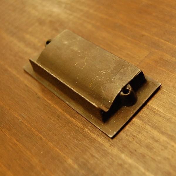 ブラスノブ413 真鍮把手・引戸用・・インドネシア直輸入・インテリアパーツ・古色仕上げ|artcrew|04