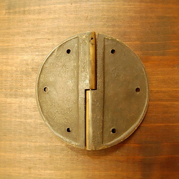 ブラス蝶番431-1 ヒンジ 真鍮・・・インドネシア直輸入・インテリアパーツ・古色仕上げ|artcrew|03