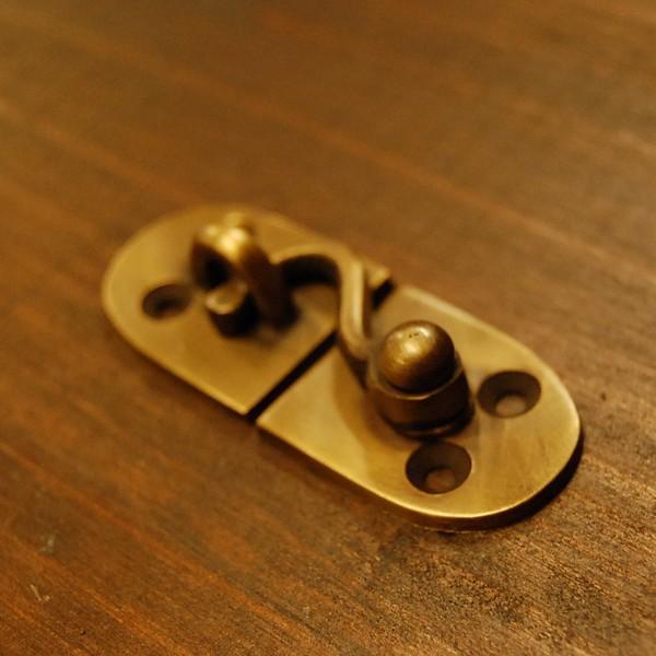 ブラス錠前439 真鍮金具・・・インドネシア直輸入・インテリアパーツ・古色仕上げ|artcrew|03