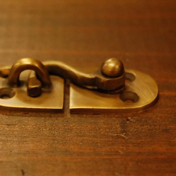 ブラス錠前439 真鍮金具・・・インドネシア直輸入・インテリアパーツ・古色仕上げ|artcrew|04