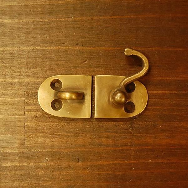 ブラス錠前439 真鍮金具・・・インドネシア直輸入・インテリアパーツ・古色仕上げ|artcrew|05