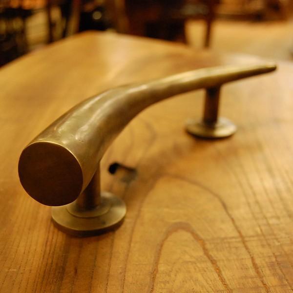 ブラス取っ手 真鍮把手 扉用 インドネシア直輸入・インテリアパーツ・古色仕上げ アンティーク仕上げ 家具修理 家具部品 DIY|artcrew|04