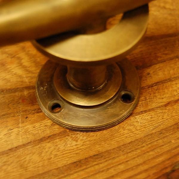 ブラス取っ手 真鍮把手 扉用 インドネシア直輸入・インテリアパーツ・古色仕上げ アンティーク仕上げ 家具修理 家具部品 DIY|artcrew|05