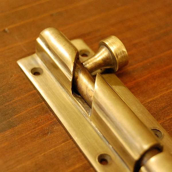 ブラス錠前449 真鍮金具・フランス落とし インドネシア直輸入・インテリアパーツ・古色仕上げ|artcrew|02