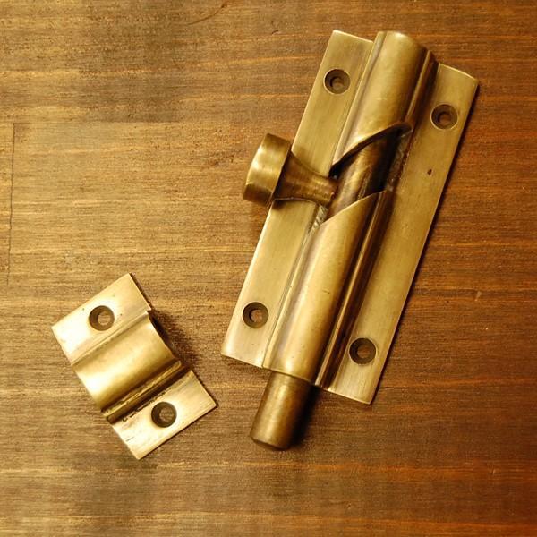 ブラス錠前449 真鍮金具・フランス落とし インドネシア直輸入・インテリアパーツ・古色仕上げ|artcrew|03