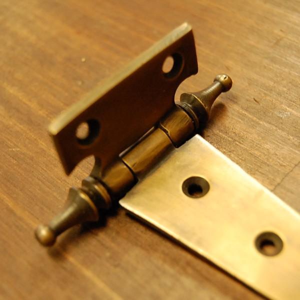 ブラス蝶番472 ヒンジ 真鍮・・・インドネシア直輸入・インテリアパーツ・古色仕上げ artcrew 03