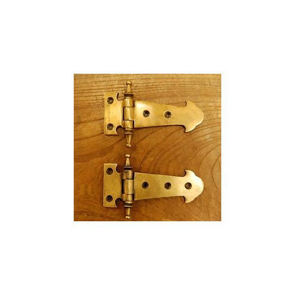 ブラス蝶番472 ヒンジ 真鍮・・・インドネシア直輸入・インテリアパーツ・古色仕上げ artcrew 05