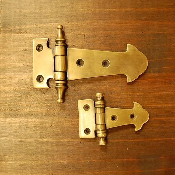 ブラス蝶番472 ヒンジ 真鍮・・・インドネシア直輸入・インテリアパーツ・古色仕上げ artcrew 06
