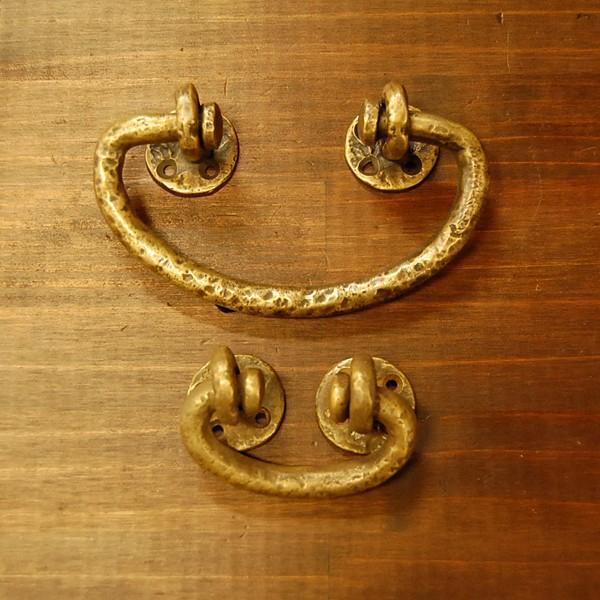 ブラス取手475 真鍮把手・・・インドネシア直輸入・インテリアパーツ・古色仕上げ|artcrew|05