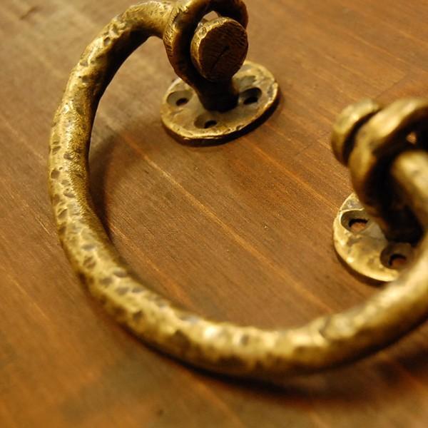 ブラス取手476 真鍮把手・・・インドネシア直輸入・インテリアパーツ・古色仕上げ|artcrew|03