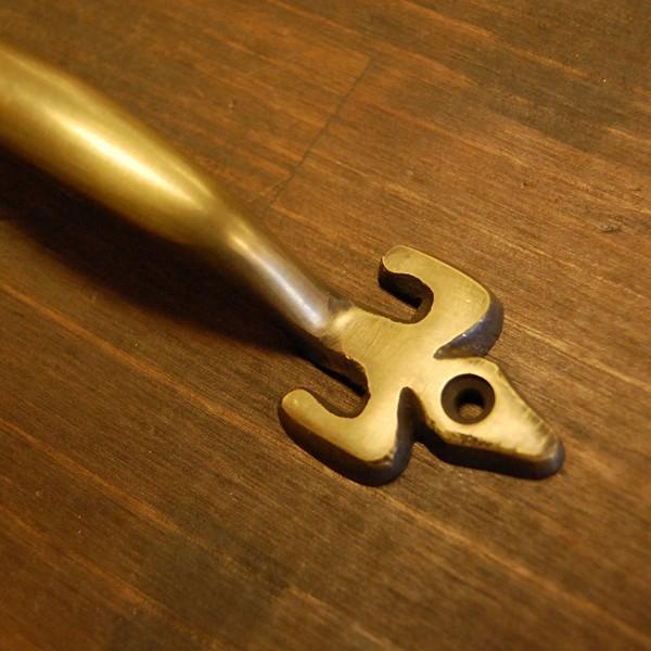 ブラス取手478 真鍮把手・・・インドネシア直輸入・インテリアパーツ・古色仕上げ DIY 家具部品 修理 加工|artcrew|02