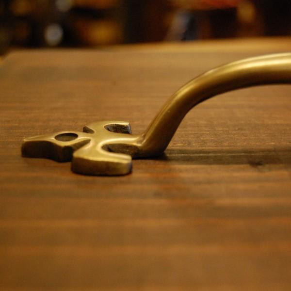 ブラス取手478 真鍮把手・・・インドネシア直輸入・インテリアパーツ・古色仕上げ DIY 家具部品 修理 加工|artcrew|03