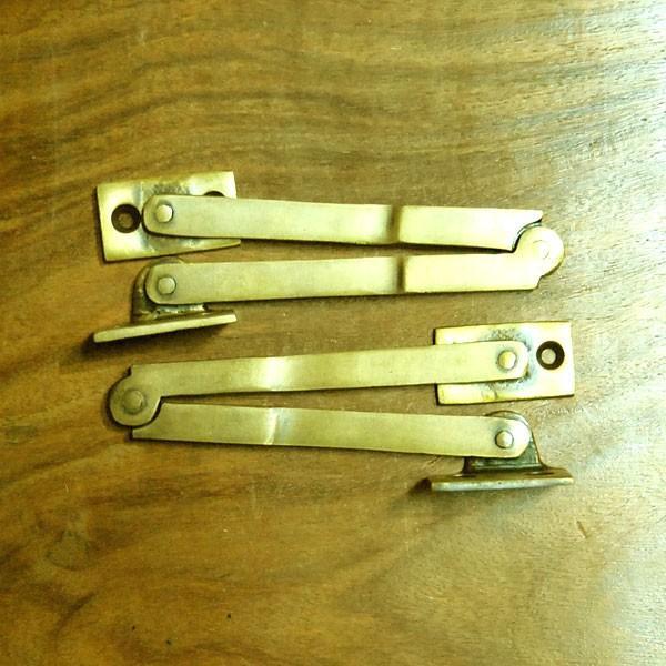 ブラスヒンジ479 蝶番 真鍮・・・インドネシア直輸入・インテリアパーツ・古色仕上げ|artcrew|04