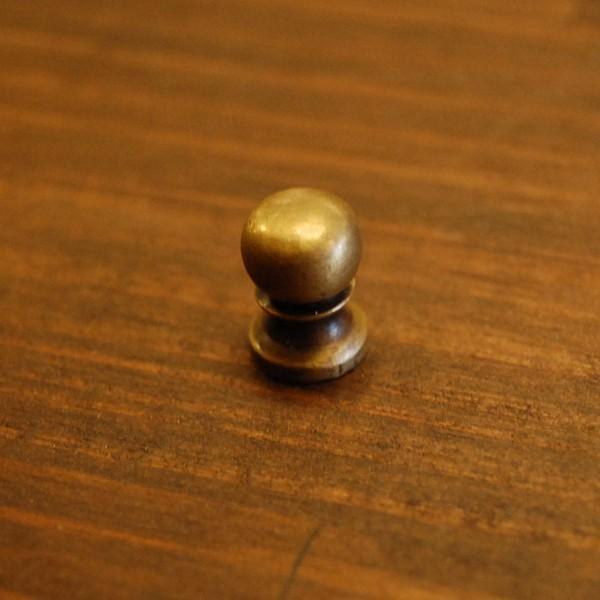 取っ手 真鍮把手 ブラス つまみ ノブ おしゃれ 引き出し インテリアパーツ アンティーク仕上げ 古色仕上げ DIY 付け替え 修理 家具部品 インドネシア直輸入|artcrew