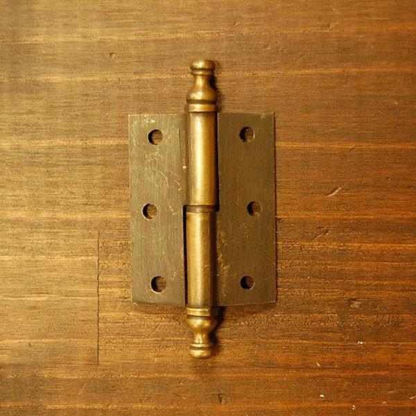 ブラス蝶番531 ヒンジ 真鍮・・・インドネシア直輸入・インテリアパーツ・古色仕上げ|artcrew|02