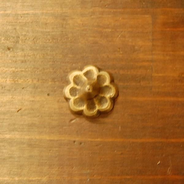 ブラスピン533 真鍮鋲・・・インドネシア直輸入・インテリアパーツ・古色仕上げ artcrew