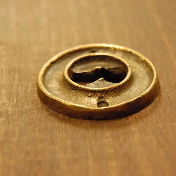 ブラス鍵穴537 真鍮金具・・・インドネシア直輸入・インテリアパーツ・古色仕上げ|artcrew|03