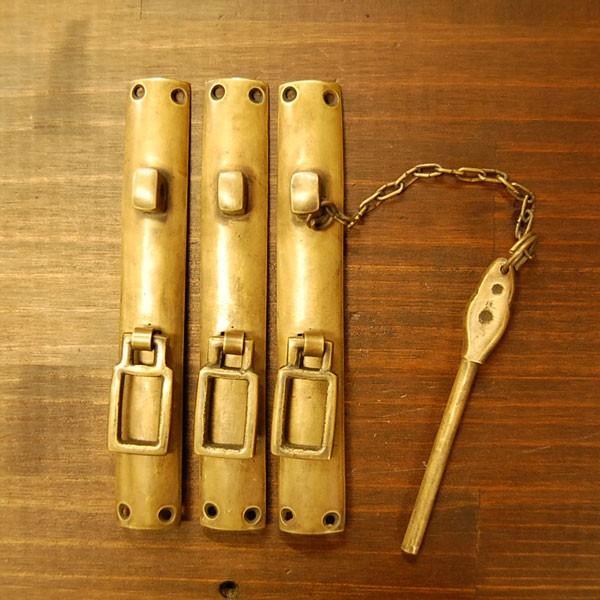 ブラス錠前544 真鍮金具・・・インドネシア直輸入・インテリアパーツ・古色仕上げ|artcrew|02