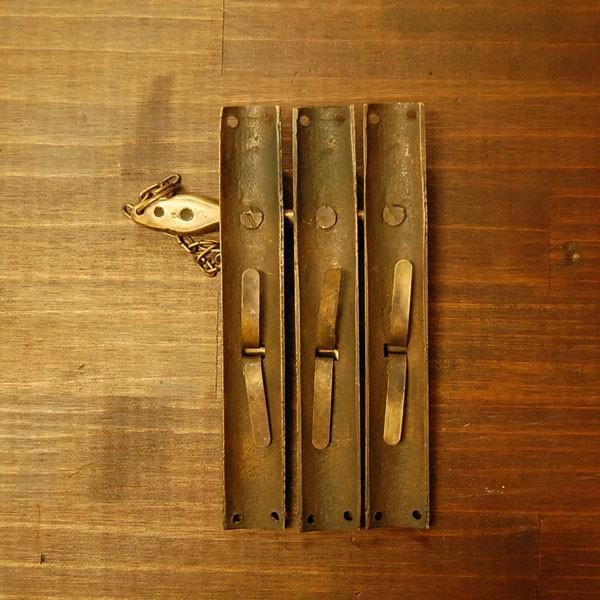 ブラス錠前544 真鍮金具・・・インドネシア直輸入・インテリアパーツ・古色仕上げ|artcrew|03