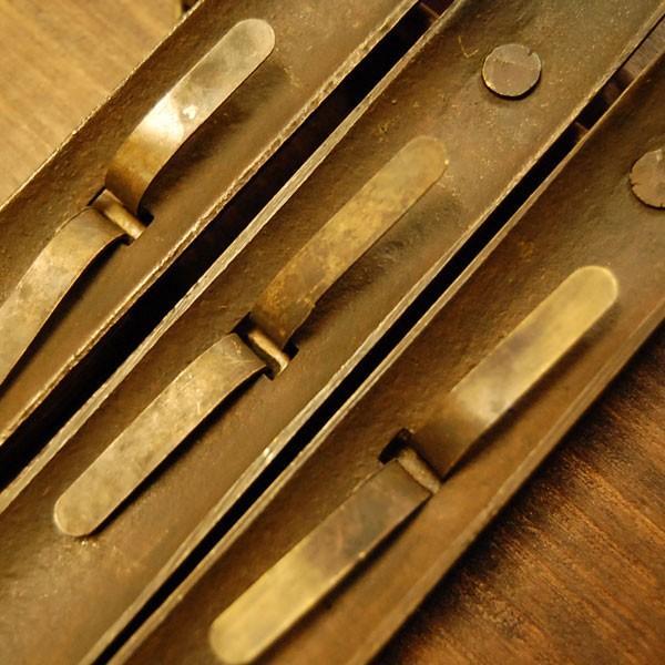 ブラス錠前544 真鍮金具・・・インドネシア直輸入・インテリアパーツ・古色仕上げ|artcrew|06