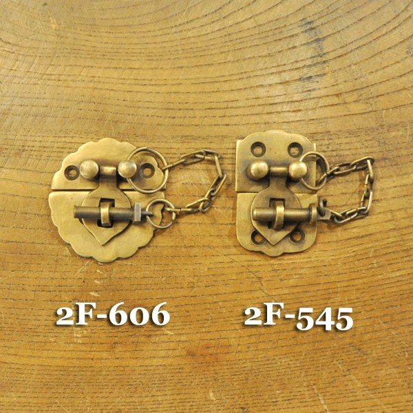 ブラス錠前545 真鍮金具・・・インドネシア直輸入・インテリアパーツ・古色仕上げ artcrew 07