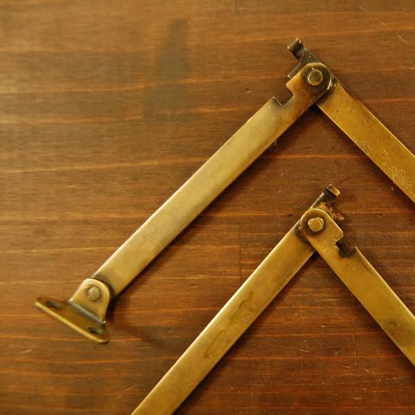 ブラスヒンジ558 蝶番 真鍮・・・インドネシア直輸入・インテリアパーツ・古色仕上げ|artcrew|03