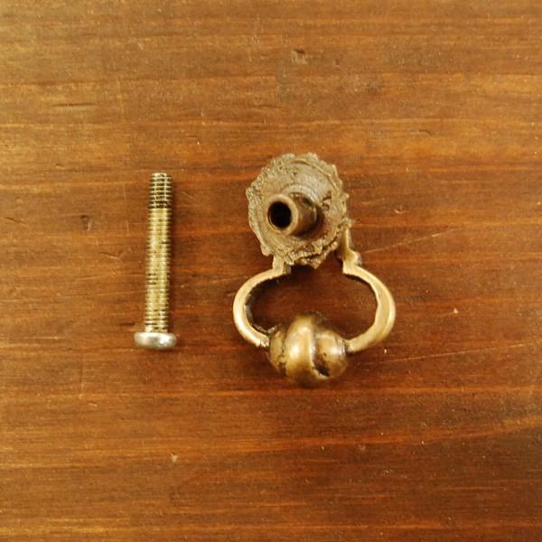ブラス取っ手 真鍮把手 インドネシア直輸入・インテリアパーツ・古色仕上げ アンティーク仕上げ 家具修理 家具部品 DIY|artcrew|05
