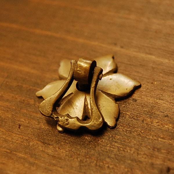 ブラス取っ手 真鍮把手 インドネシア直輸入・インテリアパーツ・古色仕上げ アンティーク仕上げ 家具修理 家具部品 DIY artcrew 02