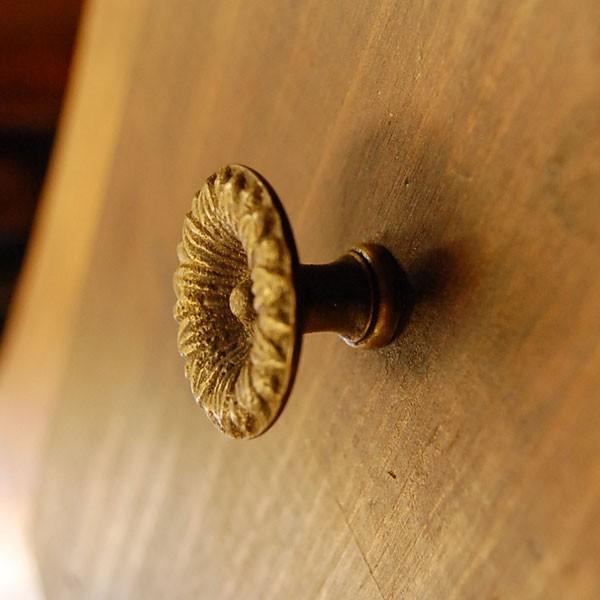 ブラス取っ手 真鍮把手 つまみ インドネシア直輸入・インテリアパーツ・古色仕上げ アンティーク仕上げ 家具修理 家具部品 DIY|artcrew|03